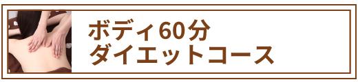 ボディケア60分 ダイエットコース